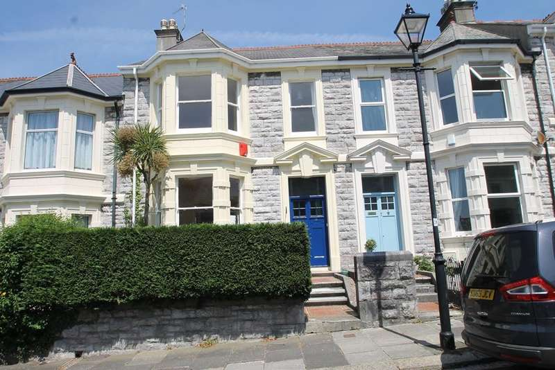 4 Bedrooms Terraced House for sale in Mannamead