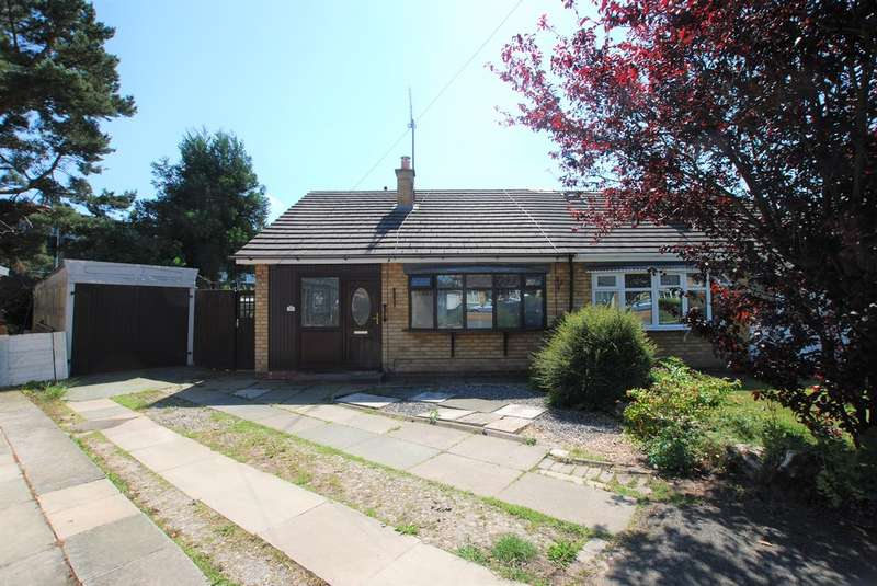 2 Bedrooms Semi Detached Bungalow for sale in Kennedy Close, Newton, Chester