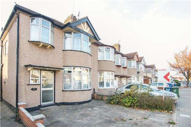 3 Bedrooms End Of Terrace House for sale in Malvern Gardens, Kenton, Middlesex, HA3 9PA