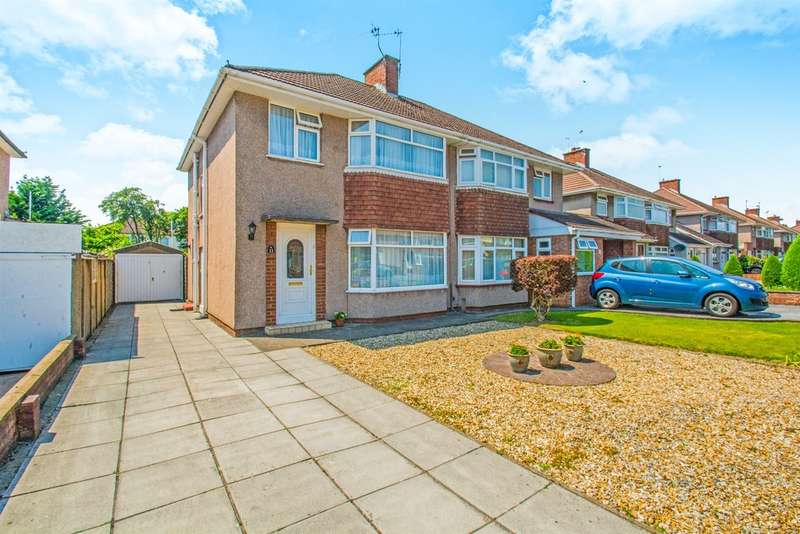 3 Bedrooms Semi Detached House for sale in Court Road, Whitchurch, Cardiff