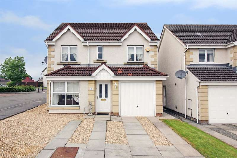 4 Bedrooms Detached House for sale in Foxdale Avenue, Greenacres, Bonnybridge