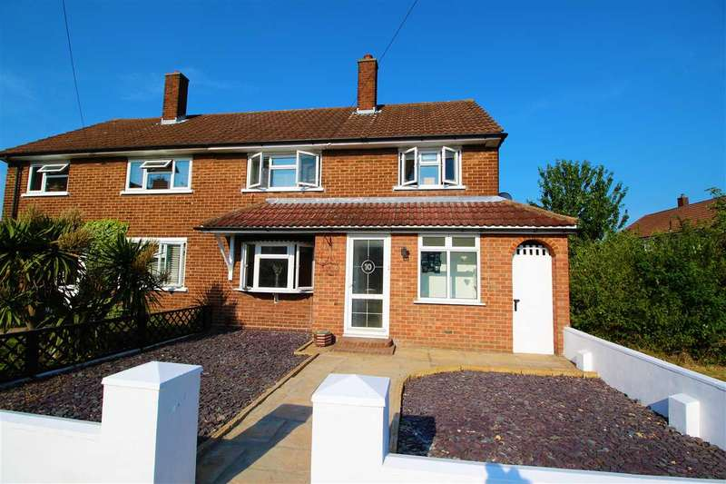 3 Bedrooms Semi Detached House for sale in Fieldway, Stifford Clays