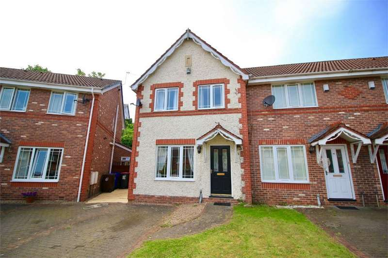 3 Bedrooms End Of Terrace House for sale in Border Brook Lane, Worsley, Manchester