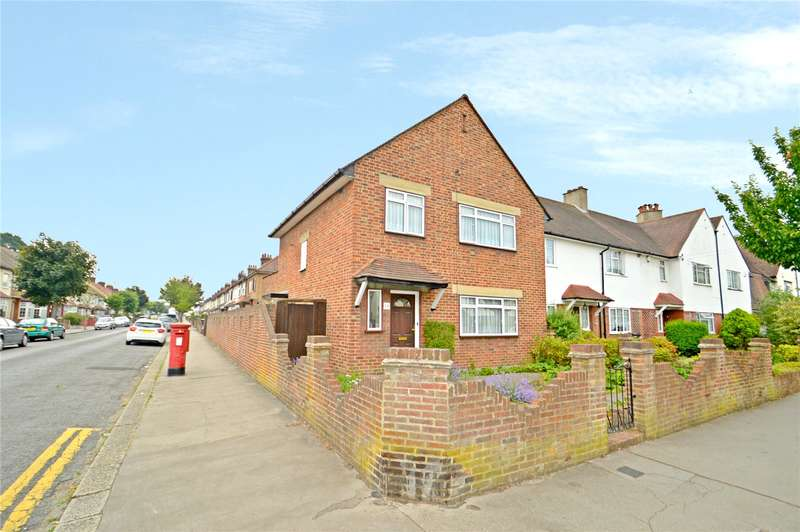 3 Bedrooms End Of Terrace House for sale in Tenterden Road, Croydon