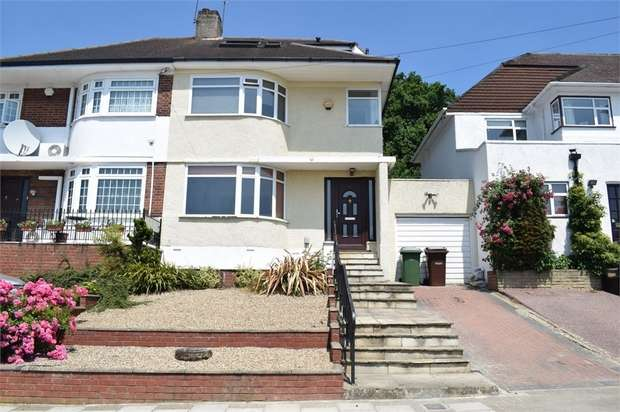 3 Bedrooms Semi Detached House for sale in Vernon Drive, Stanmore, Greater London