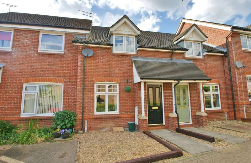 2 Bedrooms Terraced House for sale in Webb Drive, Rackheath, Norwich