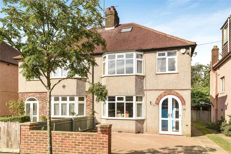 3 Bedrooms Semi Detached House for sale in Westfield Avenue, Watford, Hertfordshire, WD24