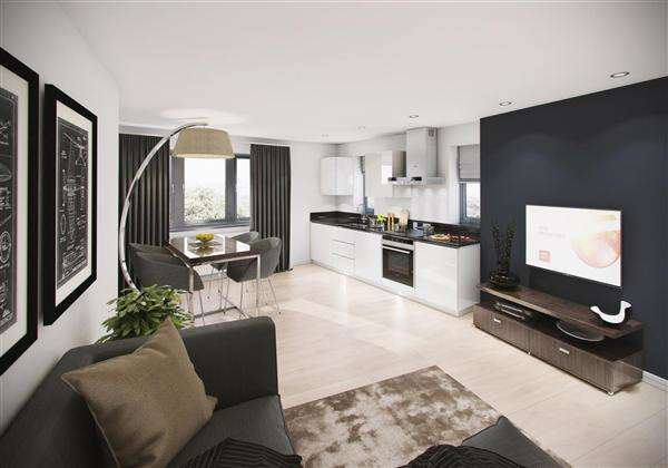 1 Bedroom Property for sale in Napier Road, Napier Court, Luton