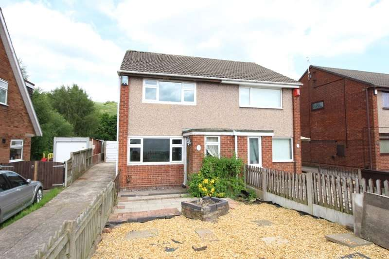 2 Bedrooms Semi Detached House for sale in Catharine Road, Chell Heath, Stoke-On-Trent, ST6