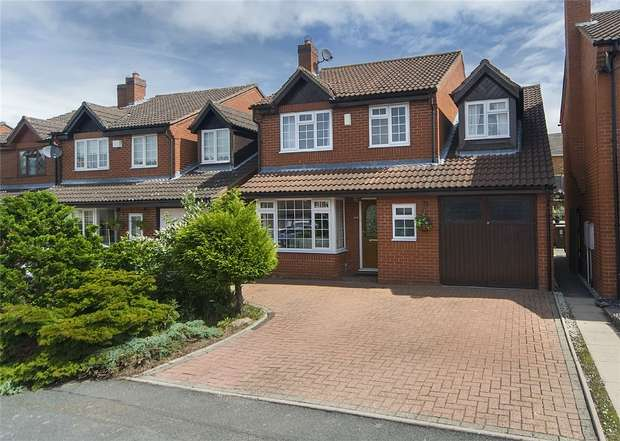 4 Bedrooms Detached House for sale in 9 Sandy Croft, NEWPORT, Shropshire
