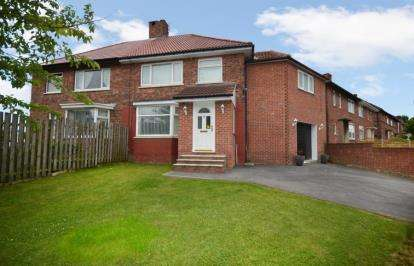 4 Bedrooms Semi Detached House for sale in Tunwell Drive, Parson Cross, Sheffield