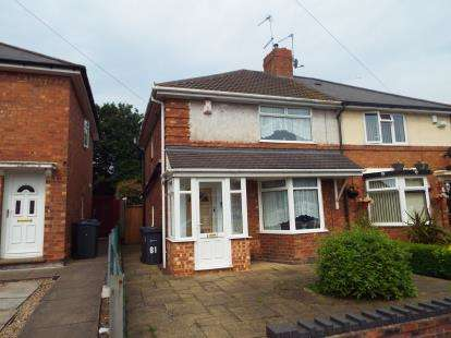 3 Bedrooms Semi Detached House for sale in Caversham Road, Birmingham, West Midlands