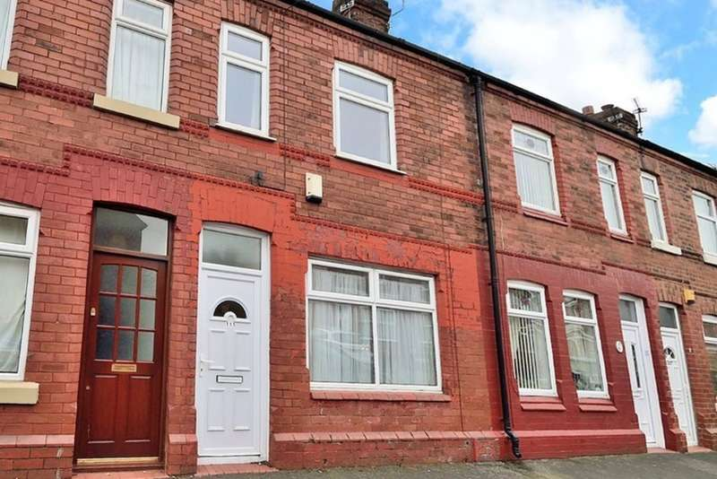 2 Bedrooms Terraced House for sale in Algernon Street, Warrington