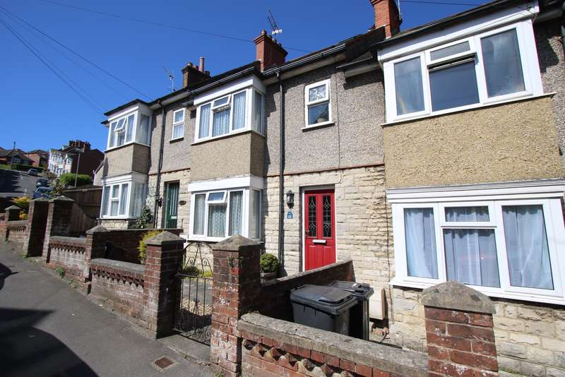 2 Bedrooms Terraced House for sale in PRINCESS ROAD, SWANAGE