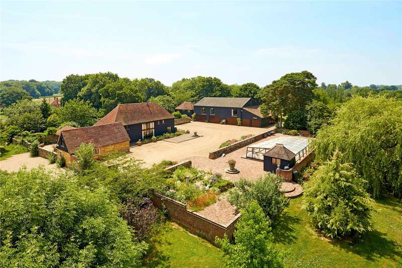 7 Bedrooms Detached House for sale in Silver Hill, Hurst Green, Etchingham, East Sussex, TN19