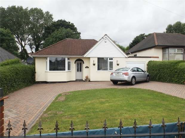 3 Bedrooms Detached Bungalow for sale in Yardley Fields Road, Birmingham, West Midlands