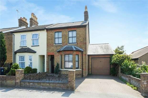 3 Bedrooms Semi Detached House for sale in 16 Langley Park Road, Iver, Buckinghamshire