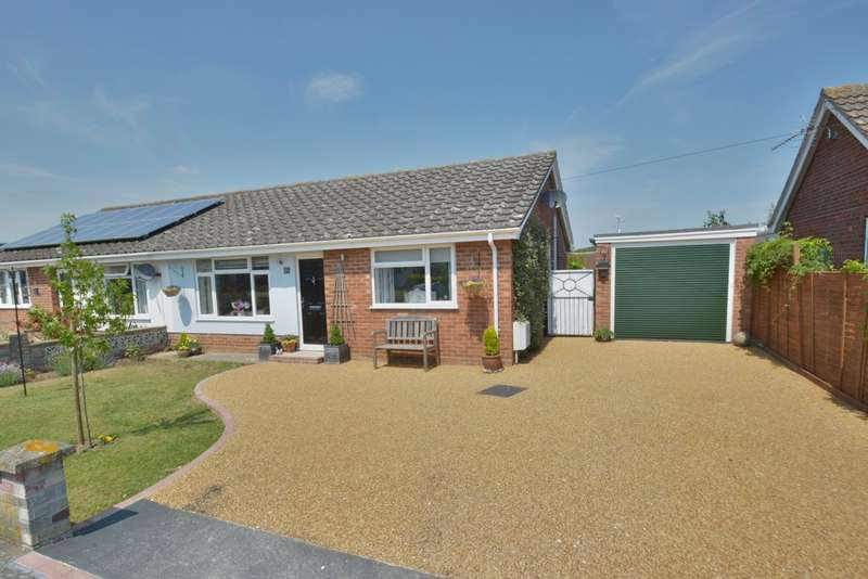 3 Bedrooms Semi Detached Bungalow for sale in Lovat Close, Harleston
