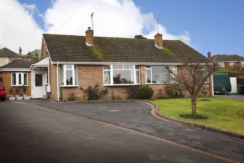 3 Bedrooms Semi Detached Bungalow for sale in Essex Gardens, Stourbridge