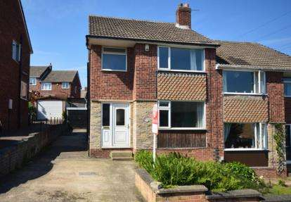 3 Bedrooms Semi Detached House for sale in Hill View Road, Rotherham, South Yorkshire