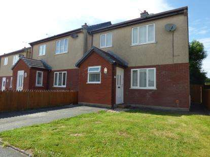 3 Bedrooms Semi Detached House for sale in Bro Ednyfed, Llangefni, Sir Ynys Mon, LL77