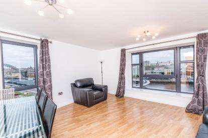 2 Bedrooms Flat for sale in Baltic Quay, Mill Road, Gateshead, Tyne and Wear, NE8