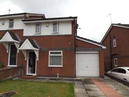 3 Bedrooms Semi Detached House for sale in Russet Close, St. Helens, Merseyside, WA10