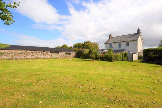 4 Bedrooms Detached House for sale in Sherwell, Callington, Cornwall