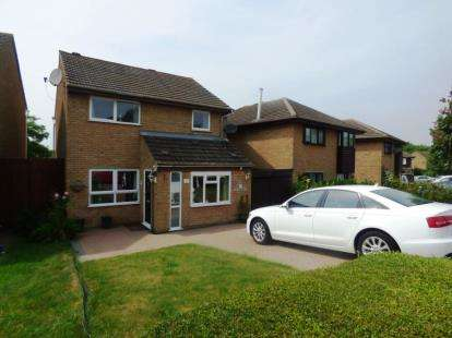 3 Bedrooms Detached House for sale in Favell Drive, Furzton, Milton Keynes, Buckinghamshire