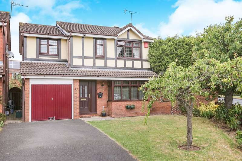 4 Bedrooms Semi Detached House for sale in Fincham Close, Wolverhampton, WV9