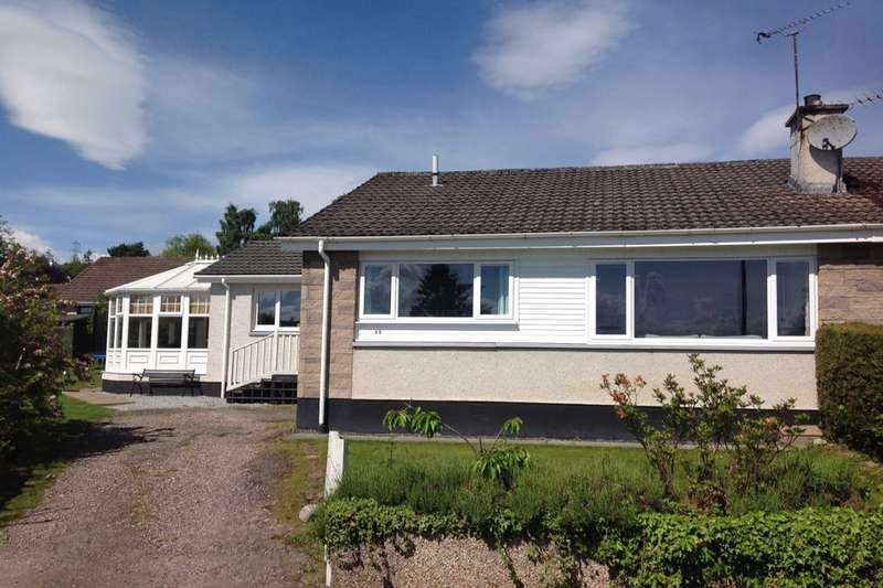 3 Bedrooms Semi Detached Bungalow for sale in Stuarthill Drive, Maryburgh, Dingwall, IV7