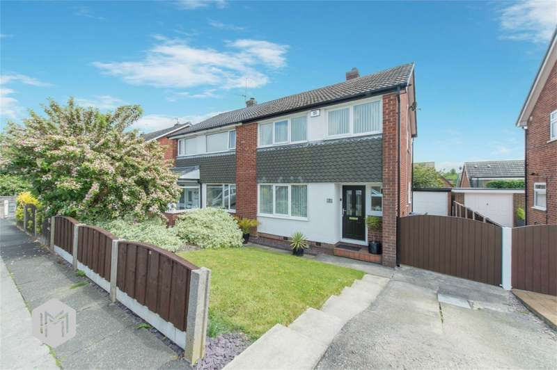 3 Bedrooms Semi Detached House for sale in Alcester Close, Bury, Lancashire