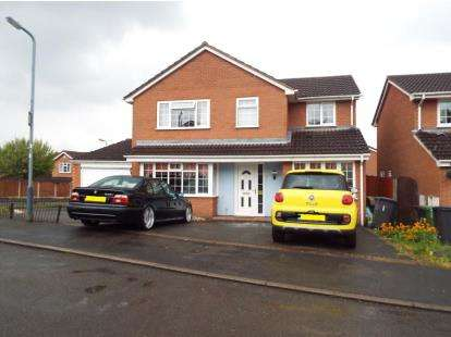 4 Bedrooms Detached House for sale in Hardy Close, Galley Common, Nuneaton, Warwickshire