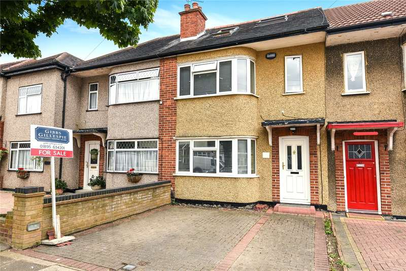 4 Bedrooms Terraced House for sale in Bempton Drive, Ruislip, Middlesex, HA4