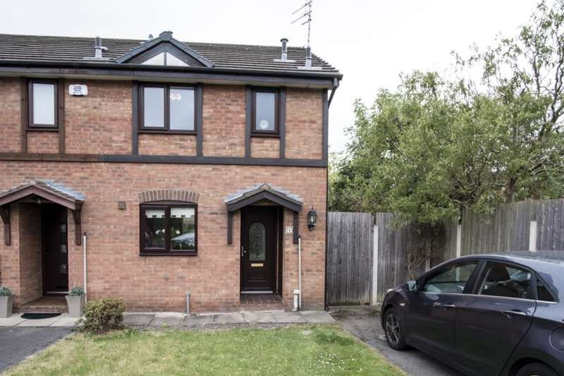 2 Bedrooms House for sale in Kestral Grove, Halewood, Liverpool, L26 7ZS
