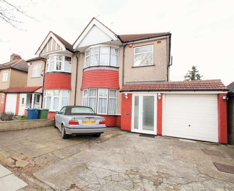 3 Bedrooms Semi Detached House for sale in Chester Drive, North Harrow, Middlesex, HA2 7PU