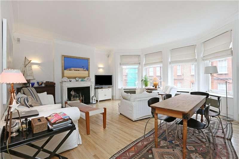 3 Bedrooms Flat for sale in Wynnstay Gardens, London, W8