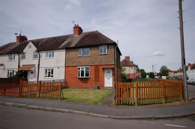 3 Bedrooms End Of Terrace House for sale in St Nicholas Road, BRIDGNORTH, Shropshire