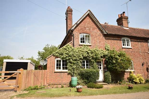 3 Bedrooms End Of Terrace House for sale in 27 Brickfield Lane Cottages, Chevening Road, Chipstead, Sevenoaks, Kent