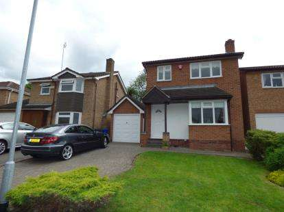 3 Bedrooms Detached House for sale in Cricketers Close, Burton-On-Trent, Staffordshire