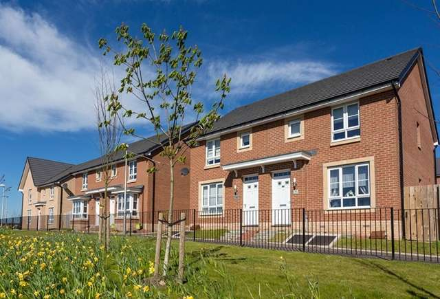 3 Bedrooms Semi-detached Villa House for sale in Lochart Gardens, Strathaven Road, Stonehouse, ML9 3QP