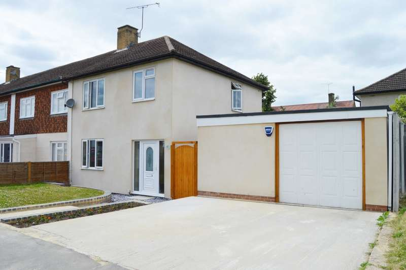 3 Bedrooms End Of Terrace House for sale in Newbury Close, Harold Hill