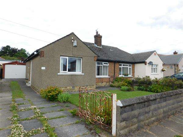 2 Bedrooms Semi Detached Bungalow for sale in Reevy Drive, Bradford