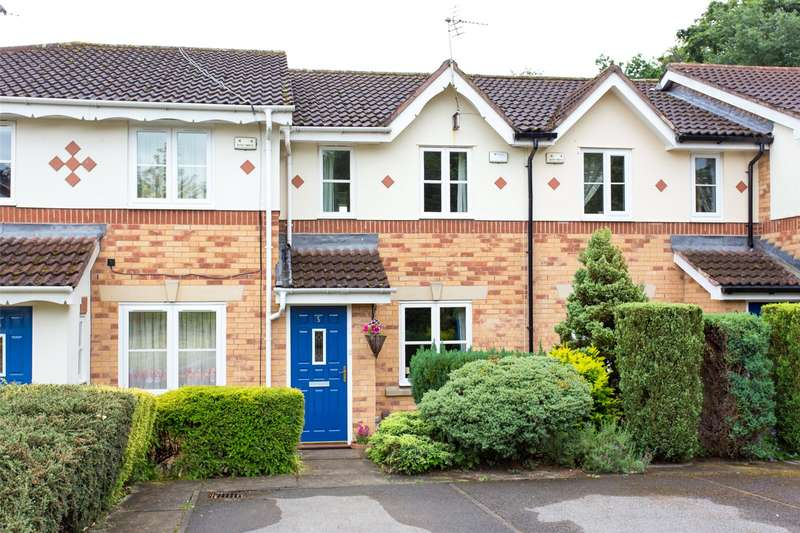 2 Bedrooms Terraced House for sale in Woodlea Court, Meanwood, Leeds, West Yorkshire, LS6