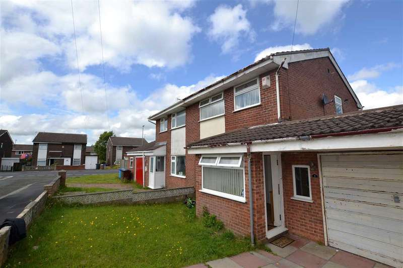 3 Bedrooms Semi Detached House for sale in Kingfisher Close, kirkby