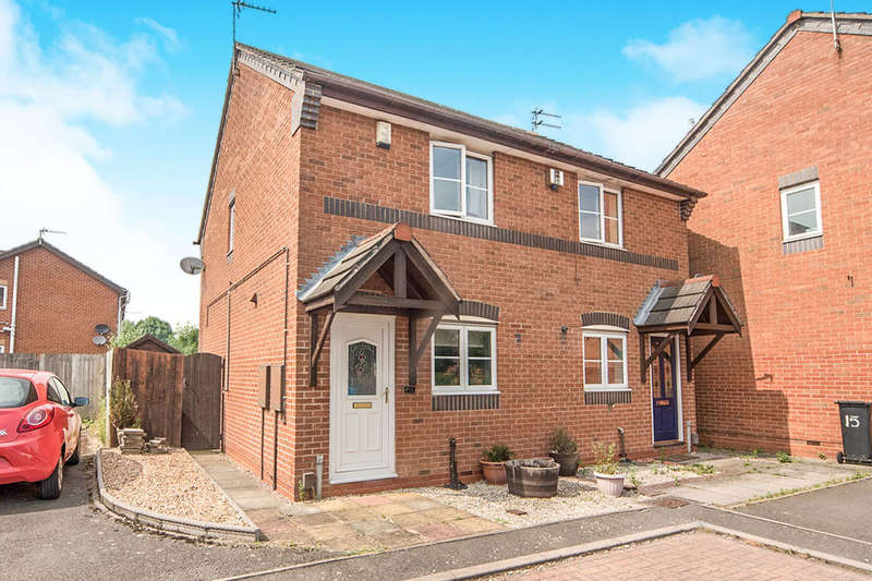 2 Bedrooms Semi Detached House for sale in St. Davids Road, LEICESTER, LE3