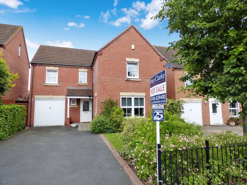 4 Bedrooms Detached House for sale in Morecroft Drive, Warwick