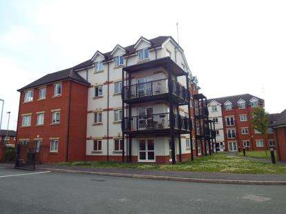 2 Bedrooms Flat for sale in Gladstone Mews, Gladstone Street, Warrington, Cheshire, WA2