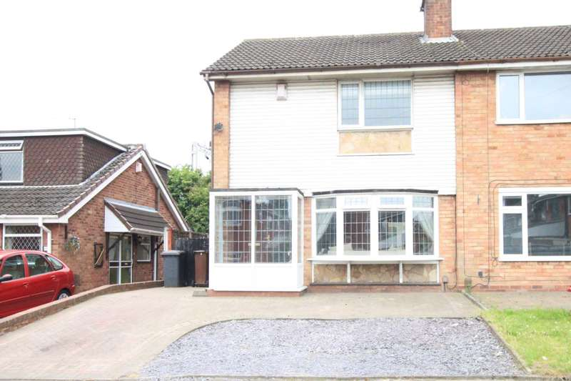 3 Bedrooms Semi Detached House for sale in Helming Drive, Wolverhampton