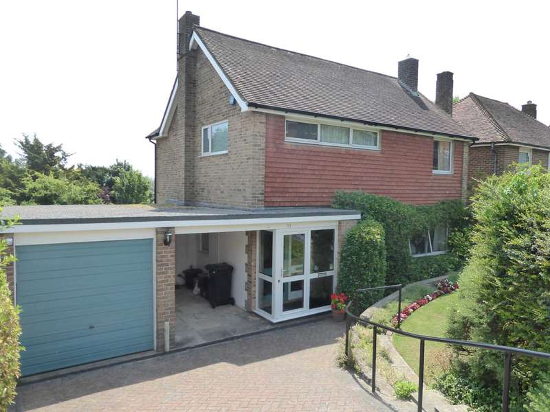 4 Bedrooms Detached House for sale in Cranedown, Lewes